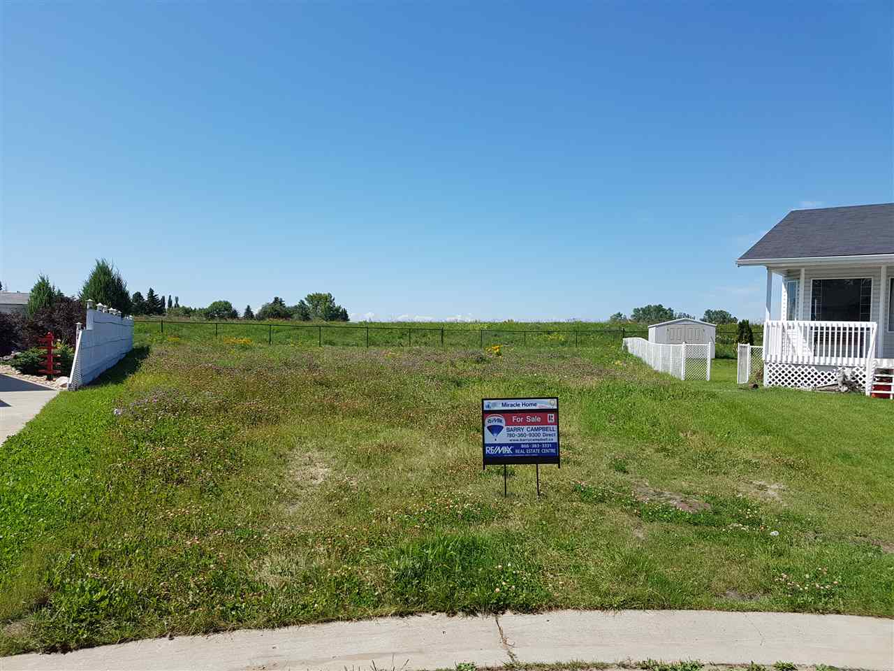 Main Photo: 9 Clearwater Crescent: Wetaskiwin Vacant Lot for sale : MLS® # E4032382