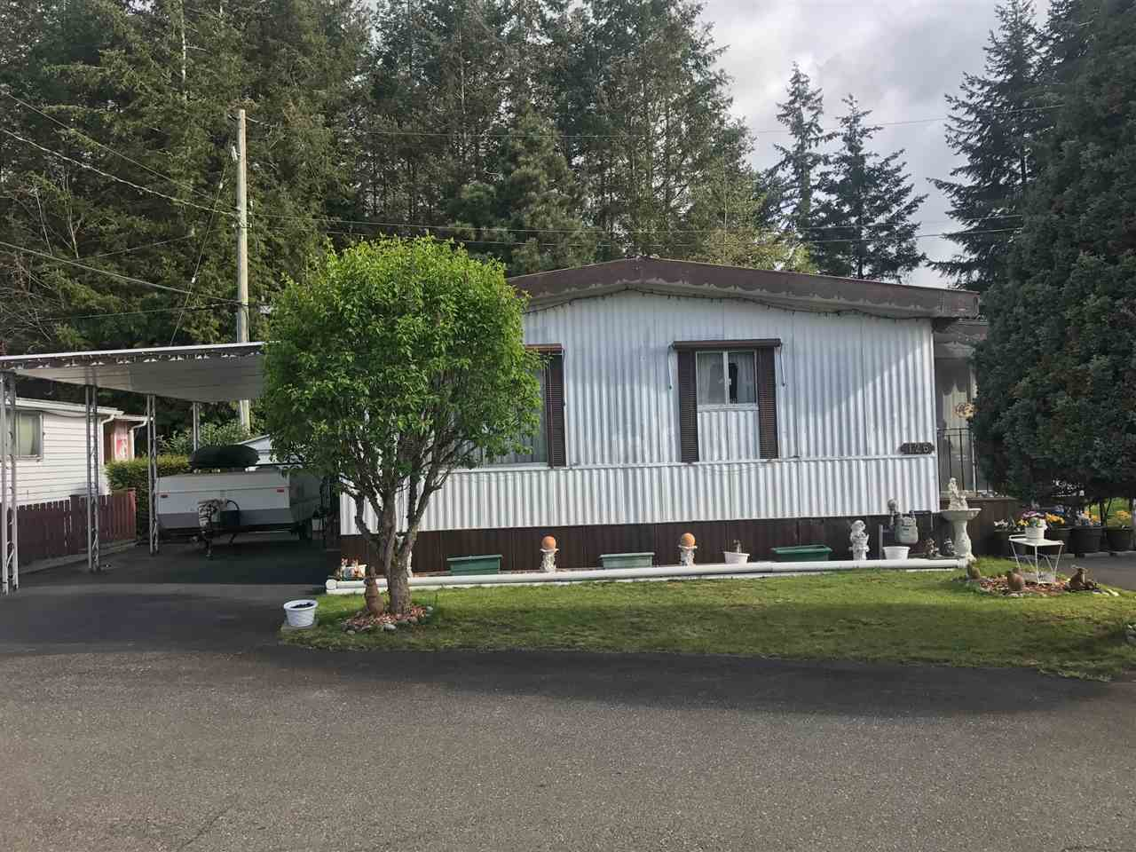 "Main Photo: 126 3031 200 Street in Langley: Brookswood Langley Manufactured Home for sale in ""CEDAR CREEK ESTATES"" : MLS(r) # R2160971"