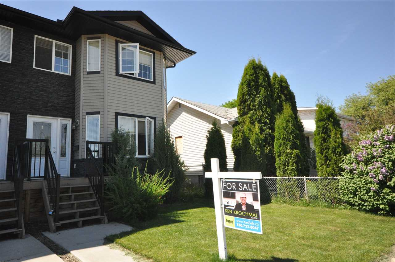 Main Photo: 10530 79 Street in Edmonton: Zone 19 House Half Duplex for sale : MLS® # E4062039