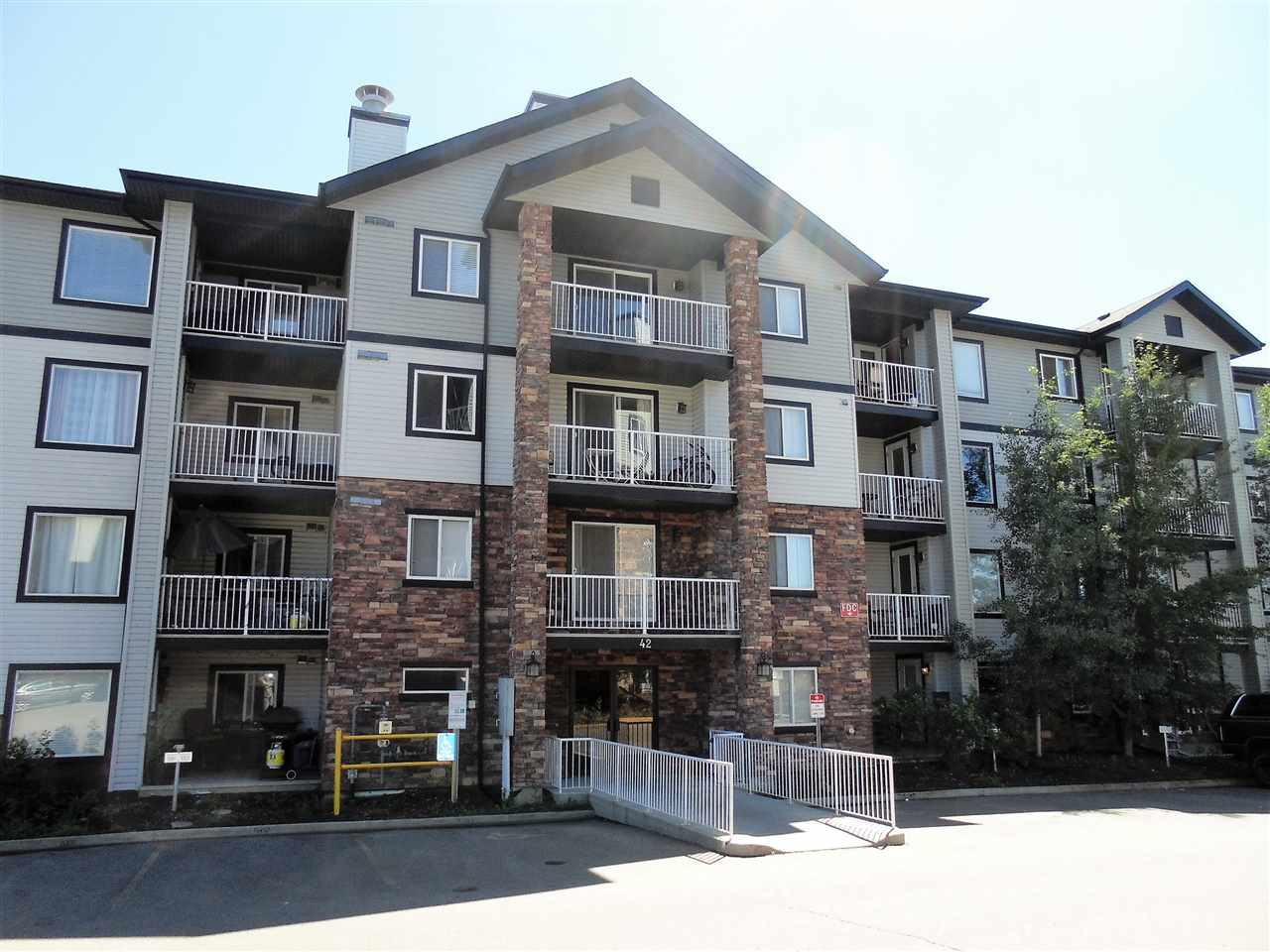 Main Photo: 206 42 SUMMERWOOD Boulevard: Sherwood Park Condo for sale : MLS(r) # E4062094
