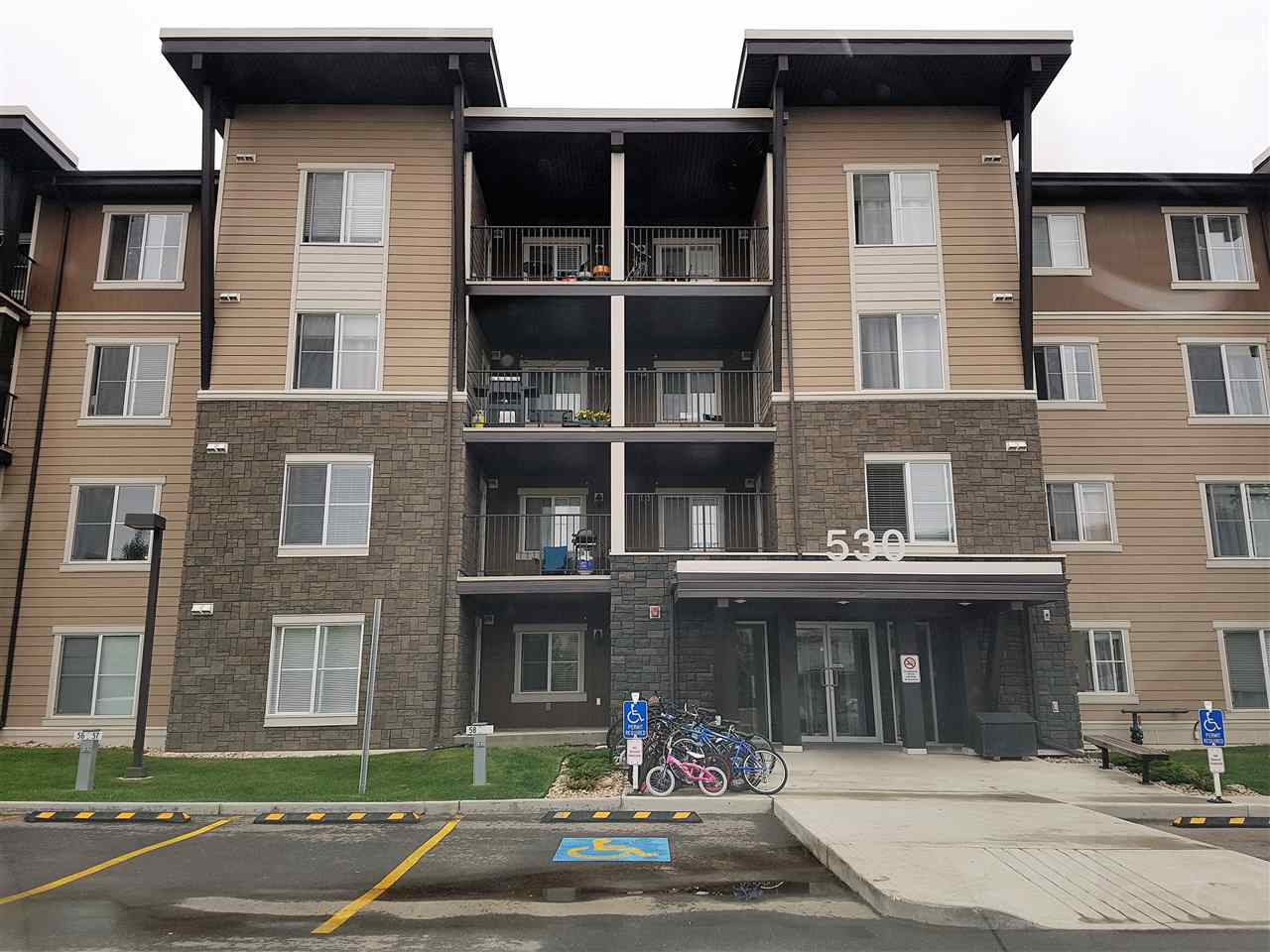 Main Photo: 319 530 WATT Boulevard in Edmonton: Zone 53 Condo for sale : MLS(r) # E4068596