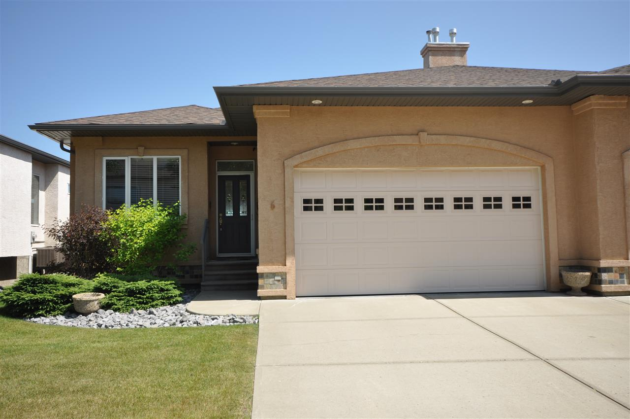 Main Photo: 6 50 Oakridge Drive S: St. Albert House Half Duplex for sale : MLS(r) # E4072647