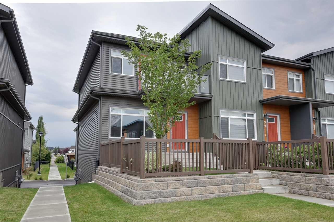 Main Photo: 93 7503 GETTY Gate in Edmonton: Zone 58 Townhouse for sale : MLS® # E4076440