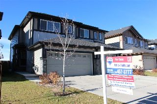 Main Photo: 4526 ALWOOD Way in Edmonton: Zone 55 House Half Duplex for sale : MLS® # E4080928
