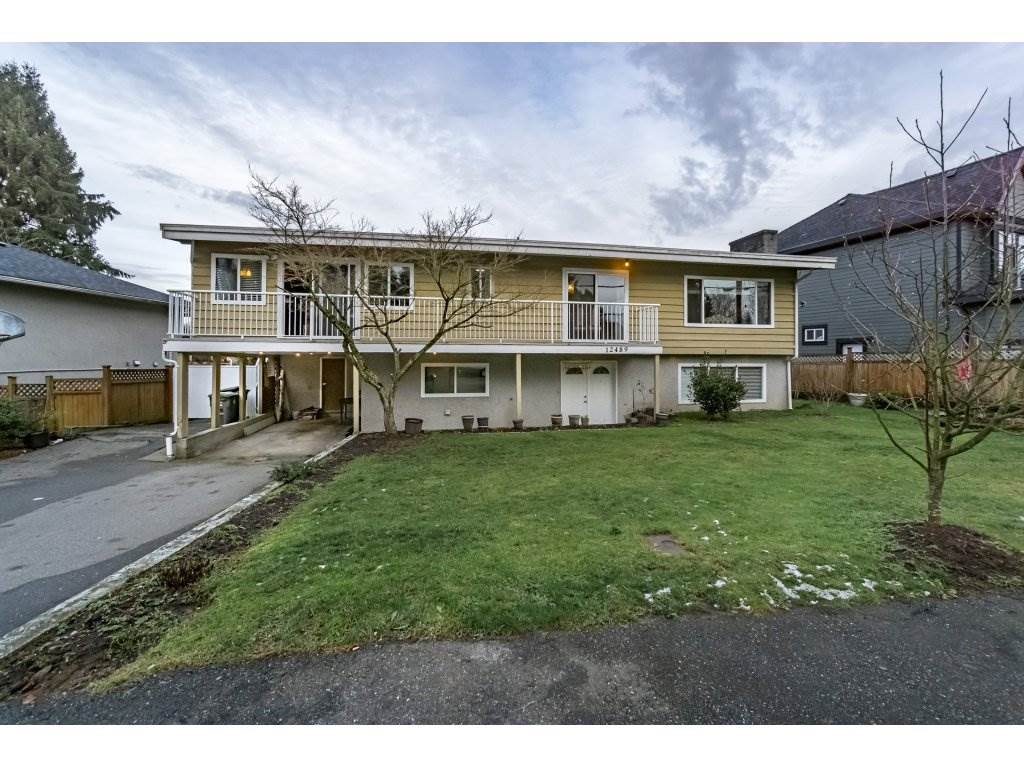 Main Photo: 12489 PINEWOOD Crescent in Surrey: Cedar Hills House for sale (North Surrey)  : MLS®# R2229602