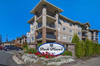 "Main Photo: 403 45769 STEVENSON Road in Sardis: Sardis East Vedder Rd Condo for sale in ""Park Place 1"" : MLS®# R2310115"