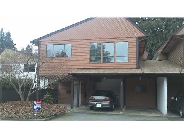"Main Photo: 9 2719 ST MICHAEL Street in Port Coquitlam: Glenwood PQ Townhouse for sale in ""TWIN CEDARS"" : MLS(r) # V871402"