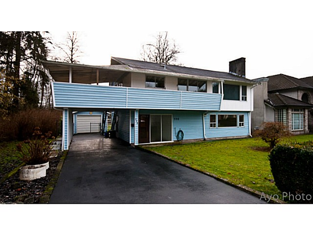 Main Photo: 598 CHAPMAN Avenue in Coquitlam: Coquitlam West House for sale : MLS® # V1043440