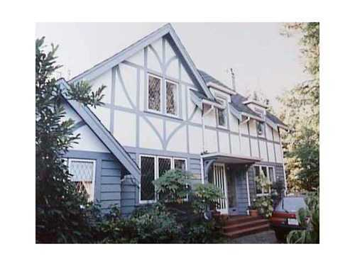 Main Photo: 1562 40TH Ave W in Vancouver West: Shaughnessy Home for sale ()  : MLS(r) # V872582