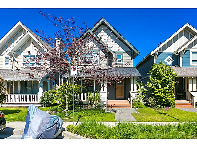 "Main Photo: 255 HOLLY Avenue in New Westminster: Queensborough House for sale in ""RED BOAT PORT ROYAL"" : MLS(r) # V1122082"