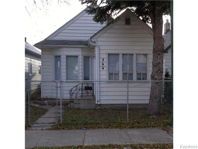 Main Photo: 264 Martin Avenue in WINNIPEG: East Kildonan Residential for sale (North East Winnipeg)  : MLS® # 1528188