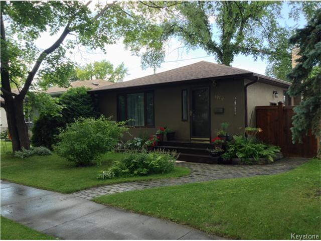 Main Photo: 1071 Mulvey Avenue in Winnipeg: Manitoba Other Residential for sale : MLS® # 1618714