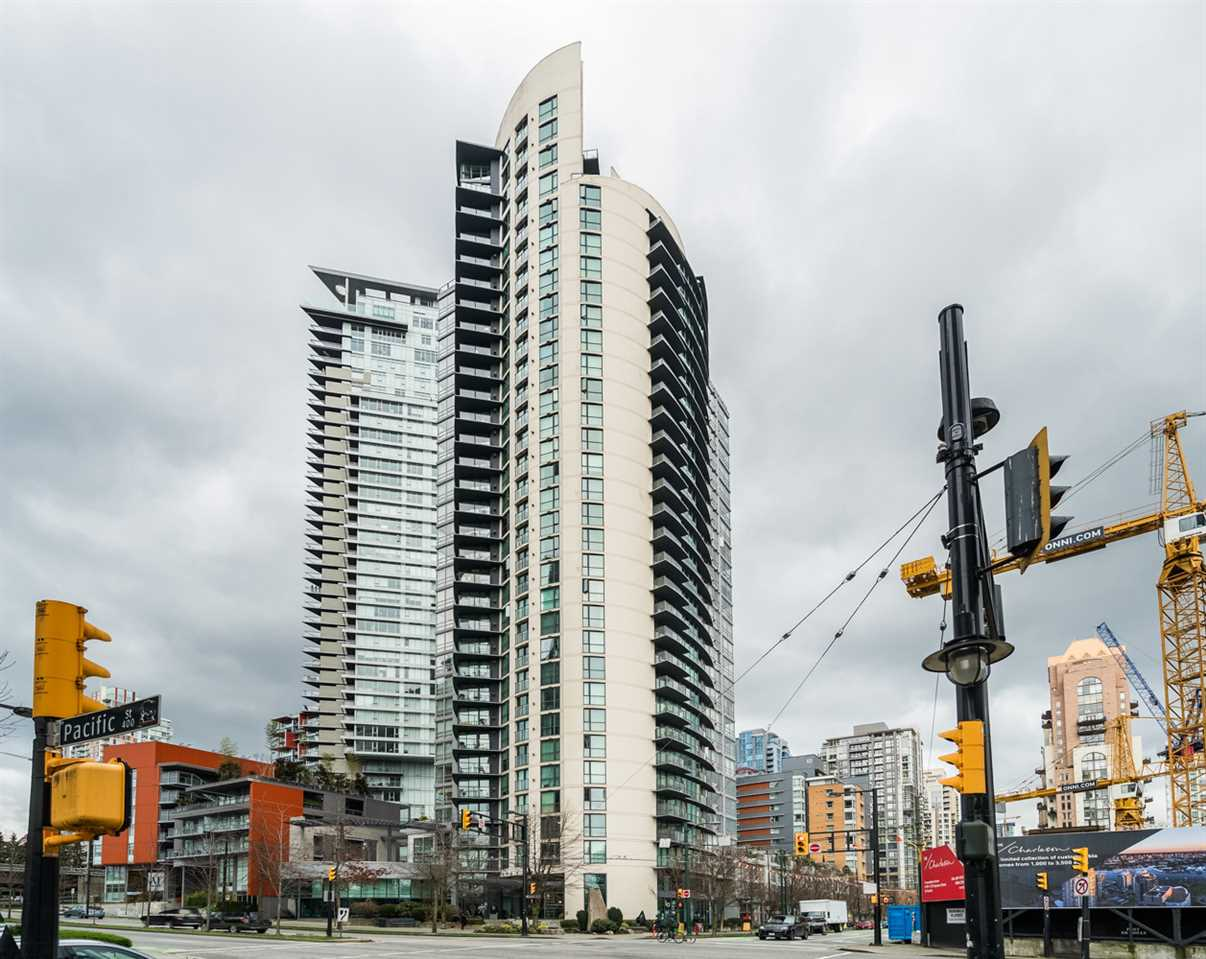 Main Photo: 606 501 PACIFIC Street in Vancouver: Downtown VW Condo for sale (Vancouver West)  : MLS(r) # R2143098
