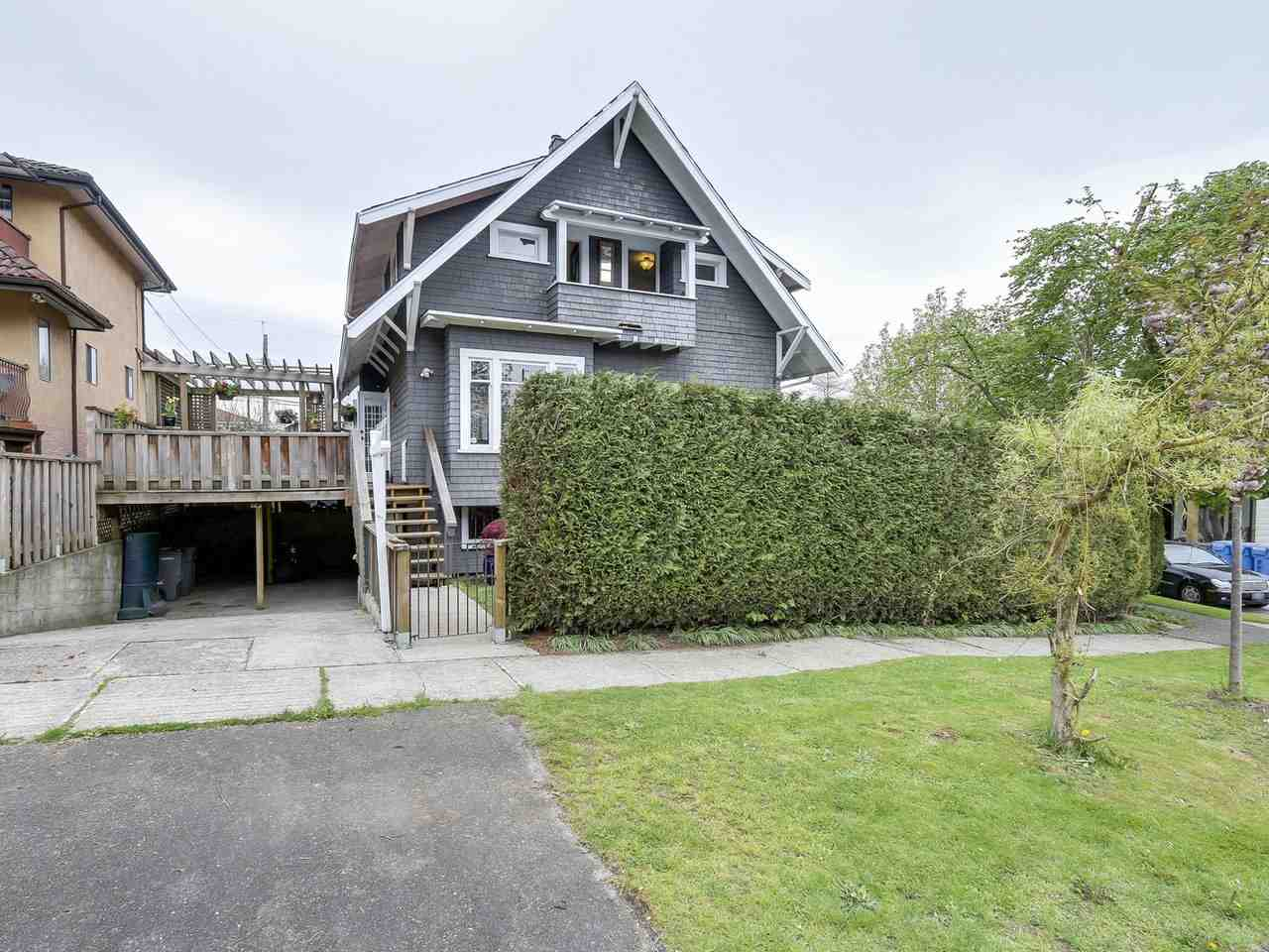 "Main Photo: 2046 STAINSBURY Avenue in Vancouver: Victoria VE House for sale in ""Trout Lake"" (Vancouver East)  : MLS(r) # R2164595"