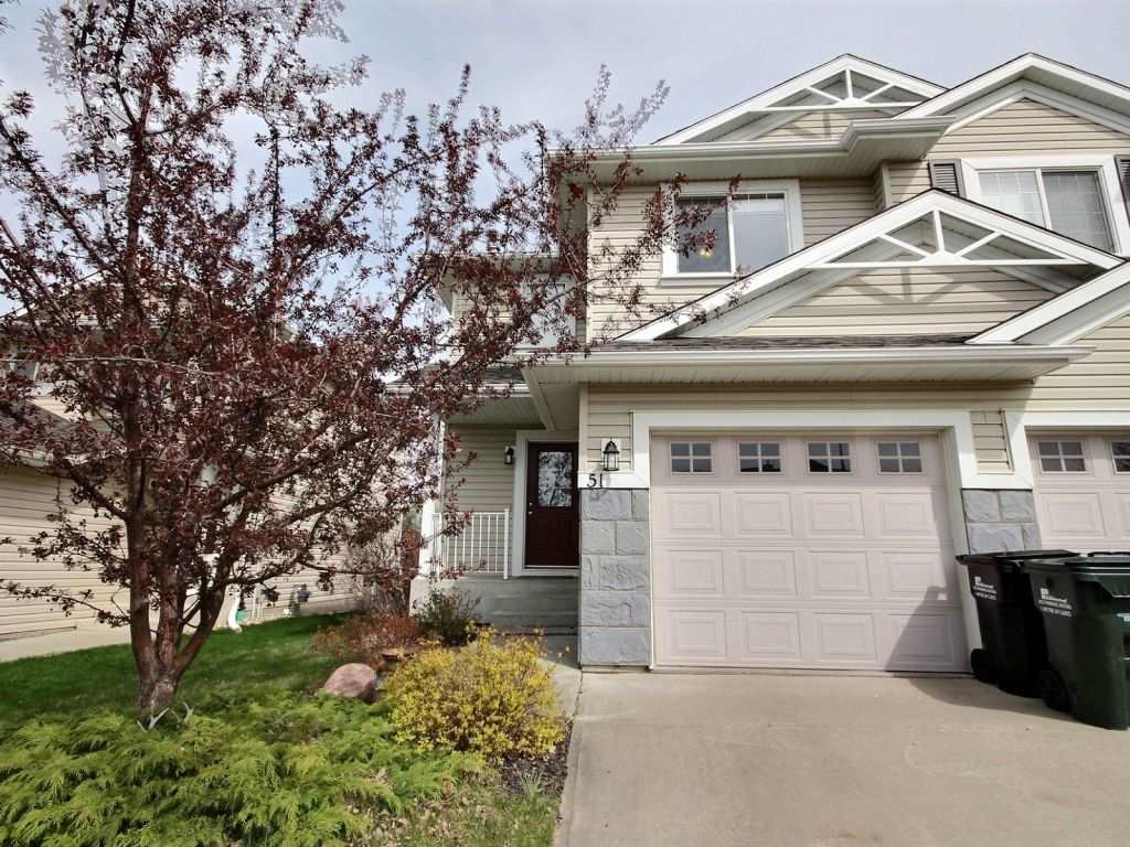 Main Photo: 51 Chestermere Drive: Sherwood Park House Half Duplex for sale : MLS(r) # E4065215
