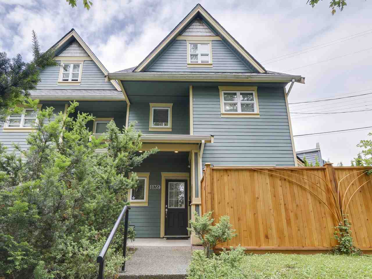 Main Photo: 1139 E 21ST Avenue in Vancouver: Knight House 1/2 Duplex for sale (Vancouver East)  : MLS® # R2180419