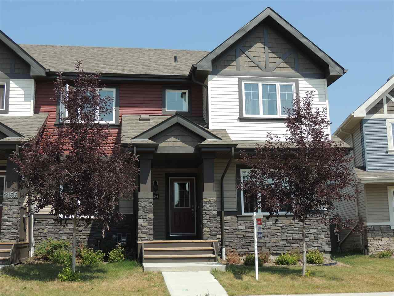 Main Photo: 2154 TRUMPETER Way in Edmonton: Zone 59 Attached Home for sale : MLS® # E4073314