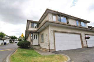 "Main Photo: 19 22280 124 Avenue in Maple Ridge: West Central Townhouse for sale in ""HILLSIDE TERRACE"" : MLS®# R2274074"