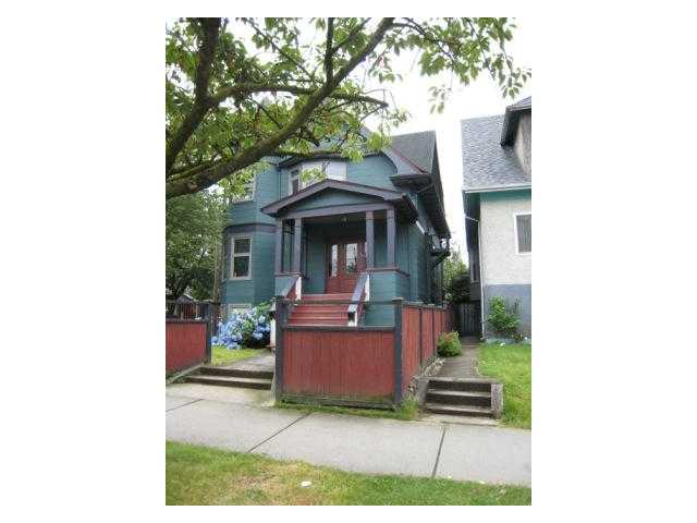 Main Photo: 1876 Charles in Vancouver: Grandview VE Home for sale (Vancouver East)  : MLS(r) #  V977029