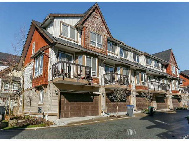 "Main Photo: 85 7155 189TH Street in Surrey: Clayton Townhouse for sale in ""BACARA"" (Cloverdale)  : MLS® # F1405846"