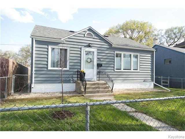 Main Photo: 634 Rosedale Avenue in Winnipeg: Manitoba Other Residential for sale : MLS® # 1611380