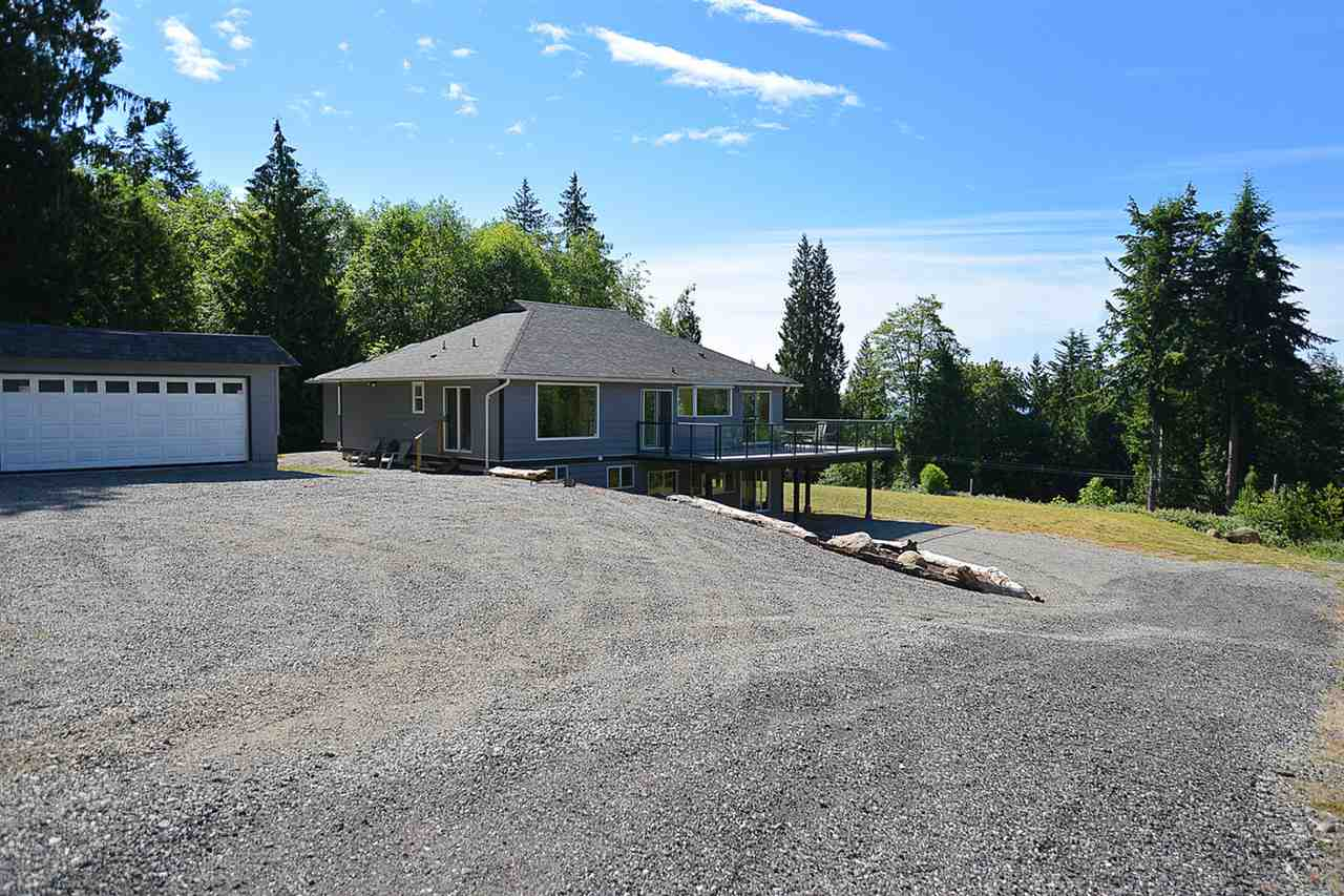 Exterior of upper home - 2 storeys, 2 bedrooms, 2 bathrooms - amazing views!