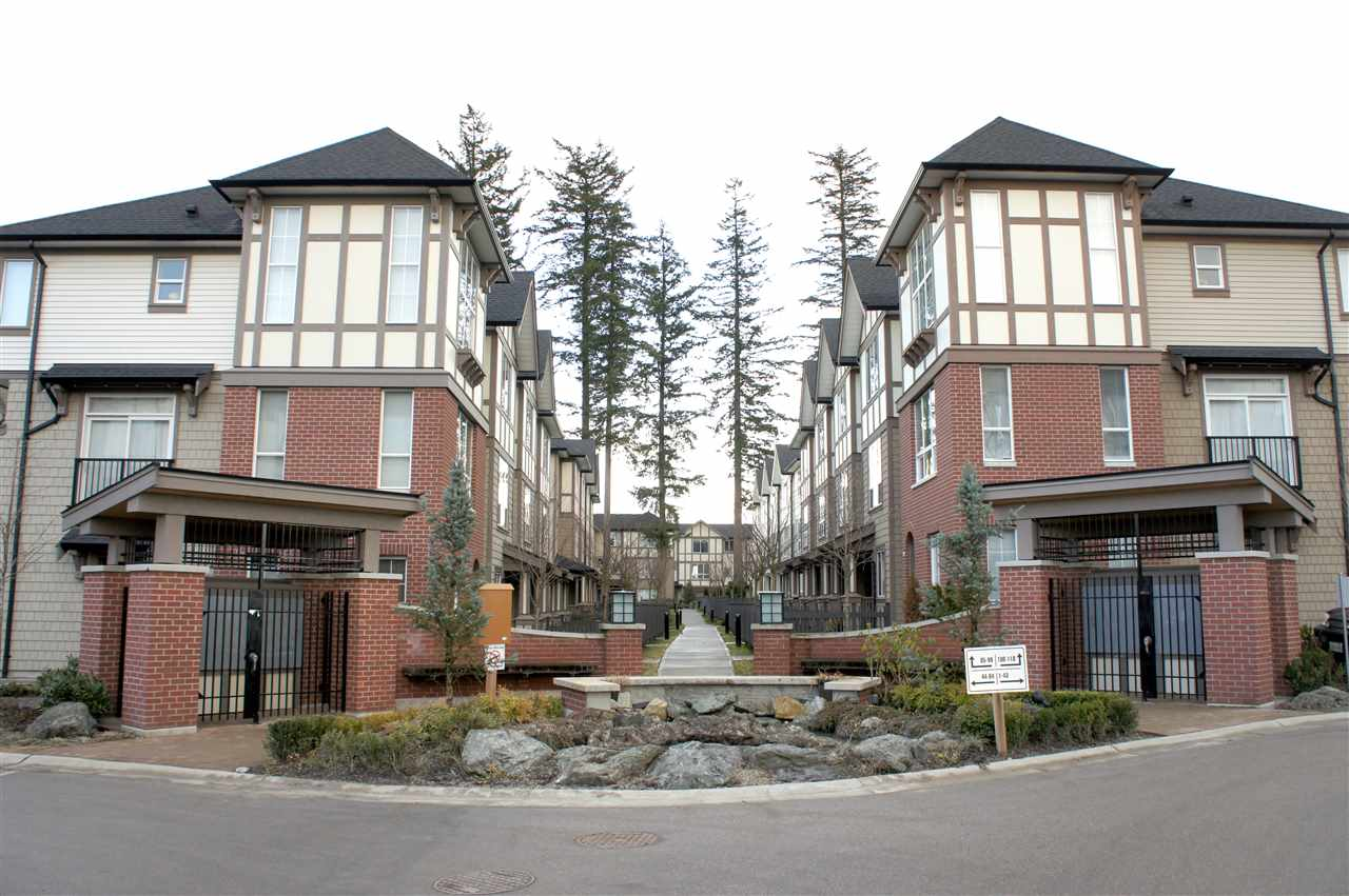 "Main Photo: 98 7848 209 Street in Langley: Willoughby Heights Townhouse for sale in ""MASON & GREEN"" : MLS® # R2141245"