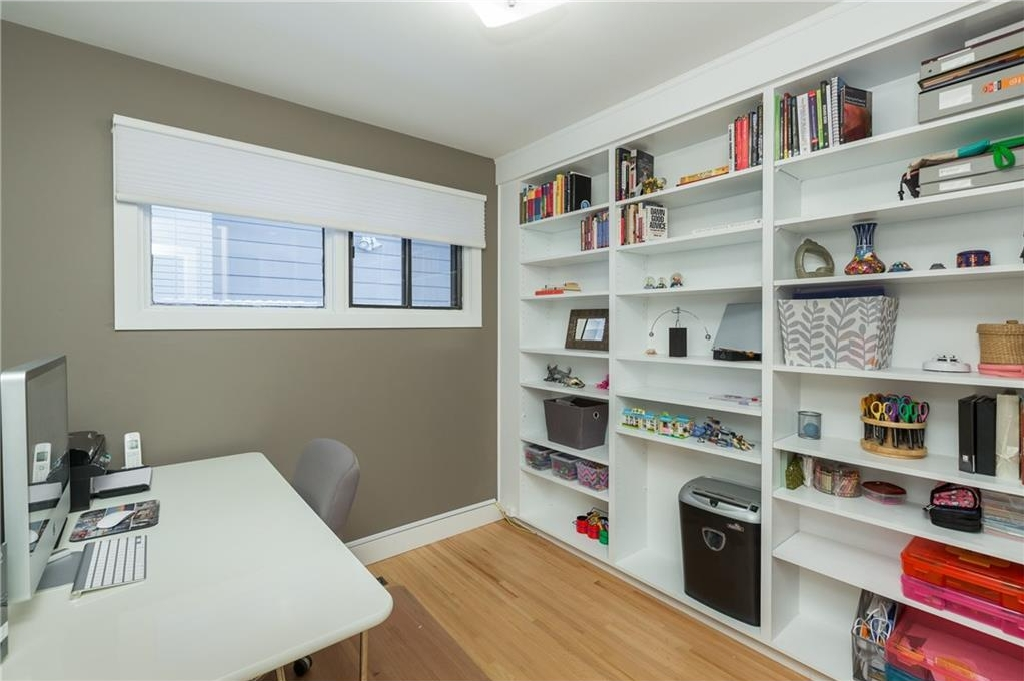 Main Floor Den/Office - has a closet could be 4th bedroom on main