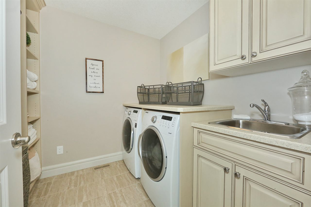 You will love doing Laundry in this beautiful space!