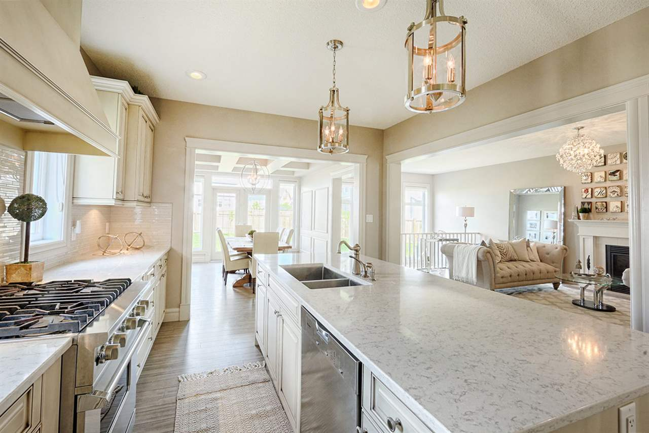 Dream Chef Kitchen with High-End Appliances including Viking Gas Range,  that opens to both living & dining!