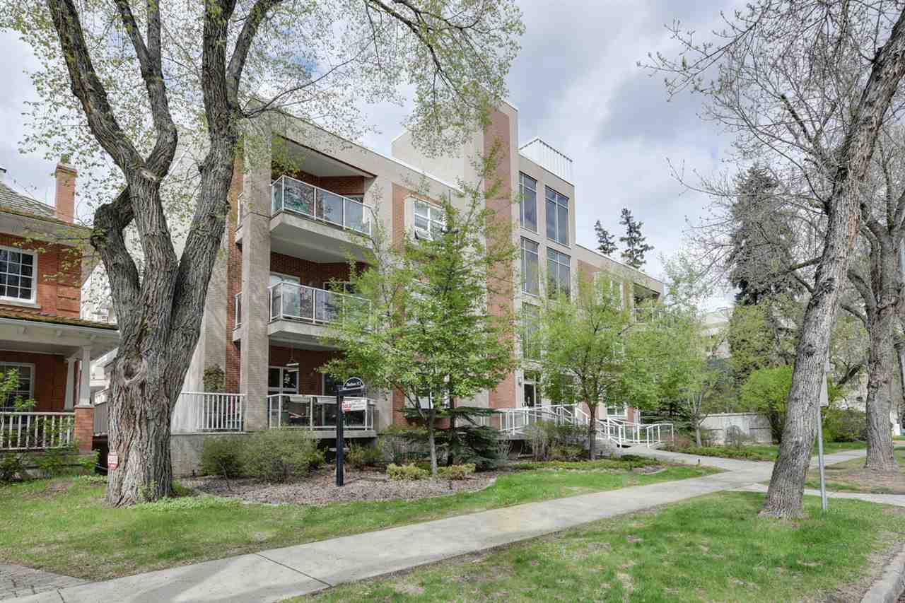 Main Photo: 305 9910 111 Street in Edmonton: Zone 12 Condo for sale : MLS® # E4078288