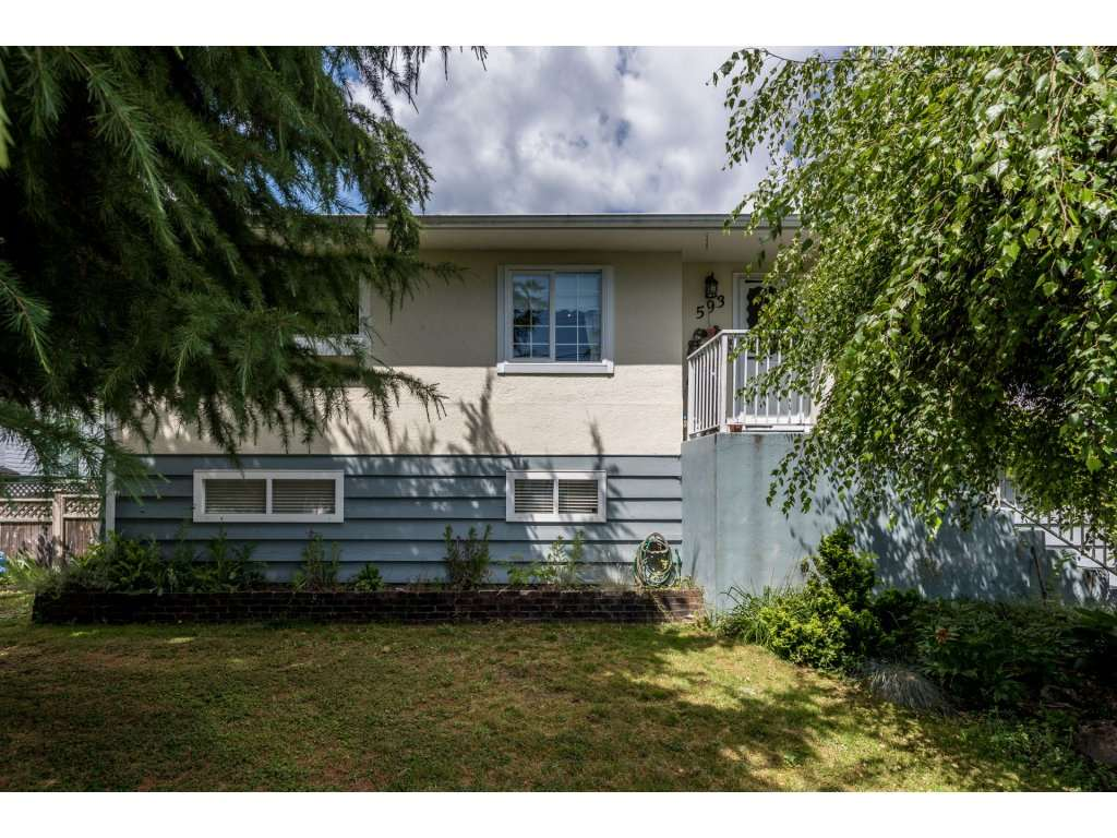 Main Photo: 593 KEMSLEY Avenue in Coquitlam: Coquitlam West House for sale : MLS® # R2206299