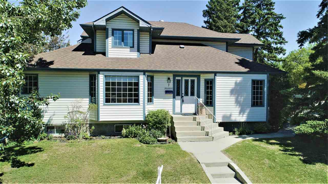Main Photo: 7 BRANDON Street: St. Albert House for sale : MLS®# E4117381