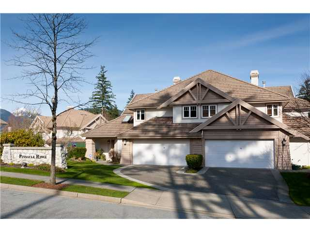 "Main Photo: 6 3405 PLATEAU Boulevard in Coquitlam: Westwood Plateau Townhouse for sale in ""PINNACLE RIDGE"" : MLS® # V883094"