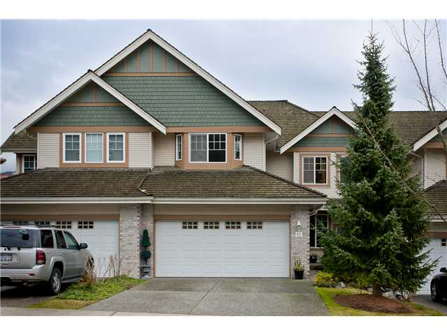 Main Photo: 12 1765 PADDOCK Drive in Coquitlam: Westwood Plateau Townhouse for sale : MLS®# V931772