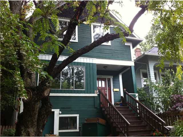 Main Photo: 1138 ROSE Street in Vancouver: Grandview VE House for sale (Vancouver East)  : MLS® # V899508