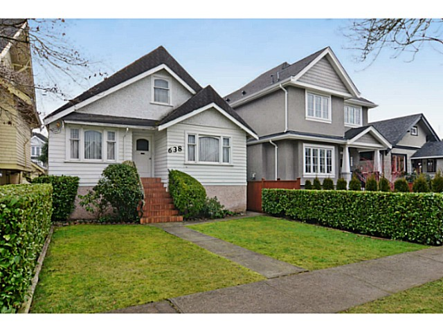 Main Photo: 638 W 22ND Avenue in Vancouver: Cambie House for sale (Vancouver West)  : MLS® # V1043270