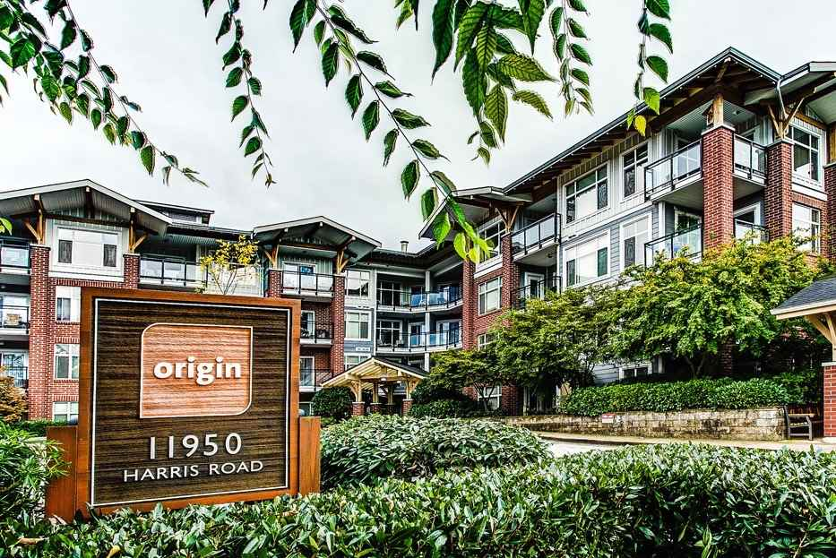 "Main Photo: 107 11950 HARRIS Road in Pitt Meadows: Central Meadows Condo for sale in ""ORIGIN"" : MLS(r) # R2119232"