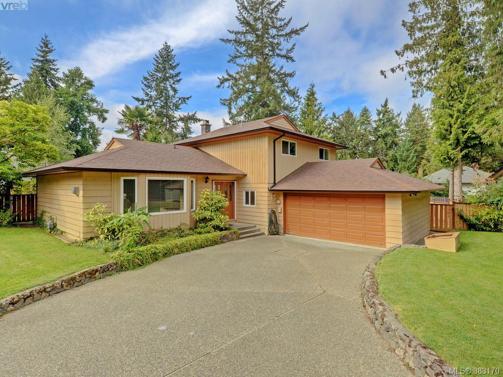 Main Photo: 1005 Win Way in BRENTWOOD BAY: CS Brentwood Bay Single Family Detached for sale (Central Saanich)  : MLS®# 383170