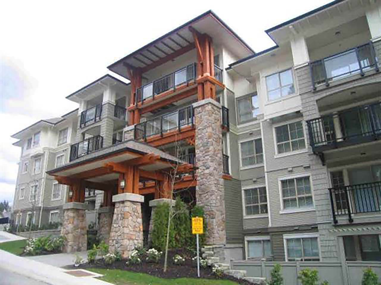 Main Photo: 309 2968 SILVER SPRINGS BOULEVARD in Coquitlam: Westwood Plateau Condo for sale : MLS® # R2237139