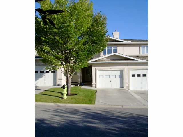 Main Photo: 17 EDGERIDGE Terrace NW in CALGARY: Edgemont Townhouse for sale (Calgary)  : MLS(r) # C3489209