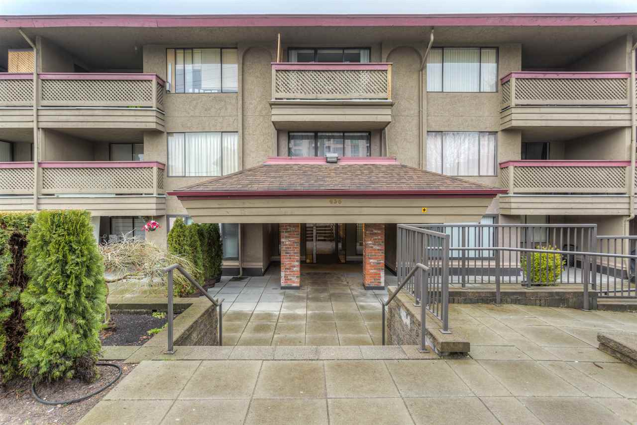 "Main Photo: 306 436 SEVENTH Street in New Westminster: Uptown NW Condo for sale in ""REGENCY COURT"" : MLS®# R2028452"