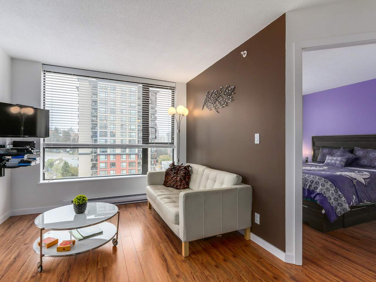 "Photo 9: 1204 833 AGNES Street in New Westminster: Downtown NW Condo for sale in ""THE NEWS"" : MLS(r) # R2112018"