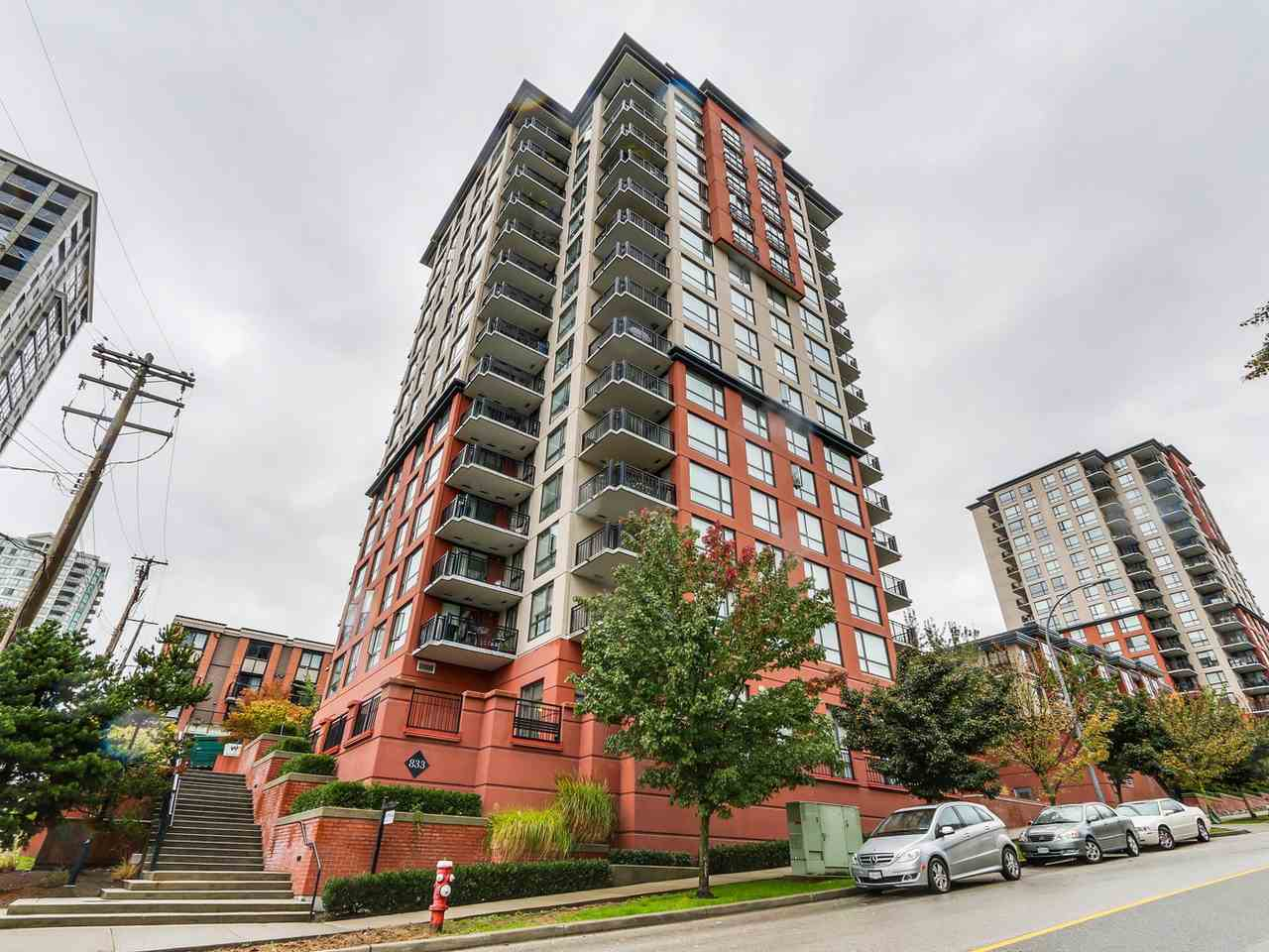 "Main Photo: 1204 833 AGNES Street in New Westminster: Downtown NW Condo for sale in ""THE NEWS"" : MLS® # R2112018"