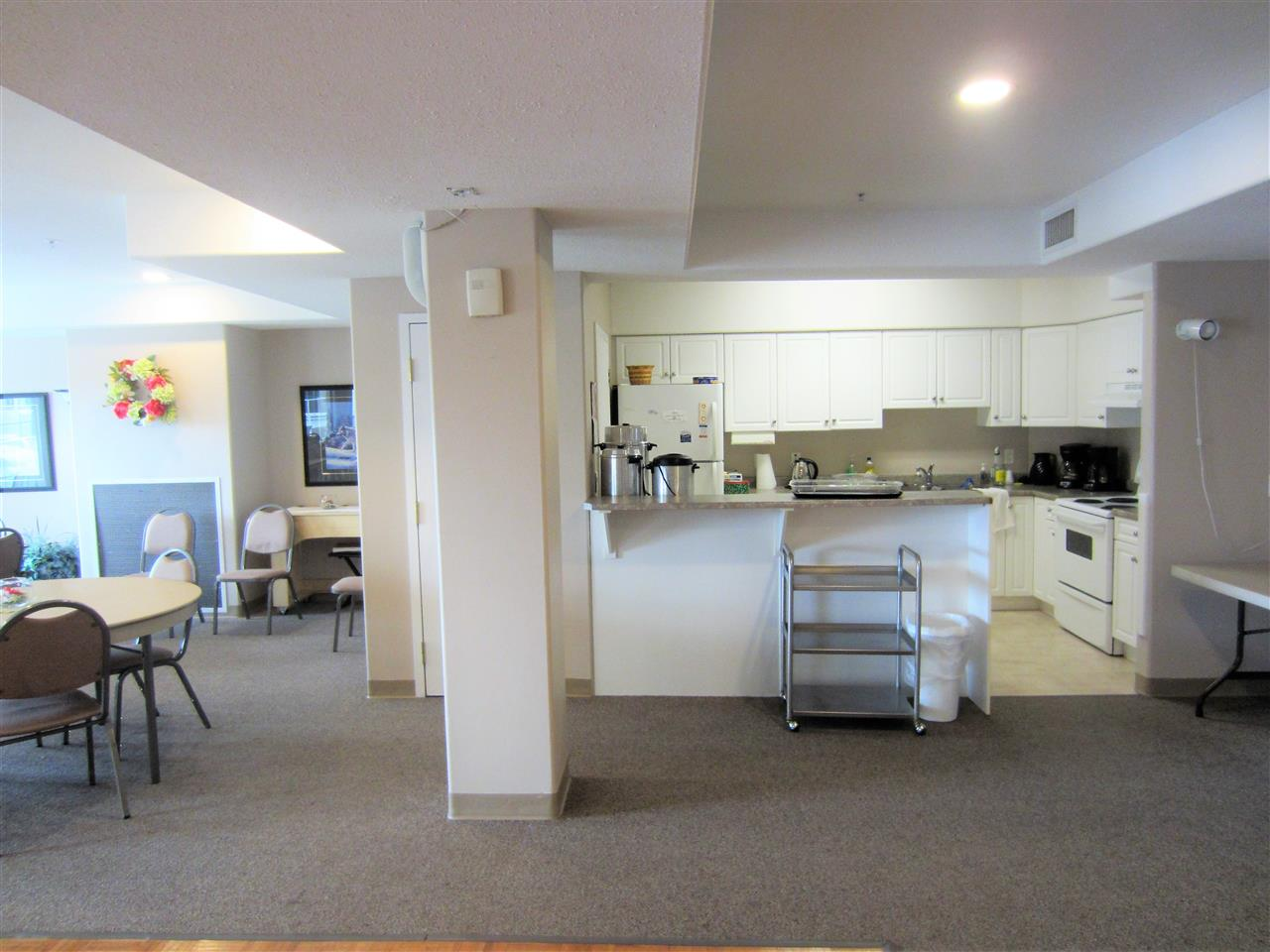 Kitchen in recreation/Social room