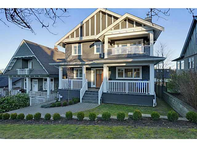 "Main Photo: 3868 HEATHER ST in Vancouver: Cambie House for sale in ""DOUGLAS PARK"" (Vancouver West)  : MLS® # V1046332"