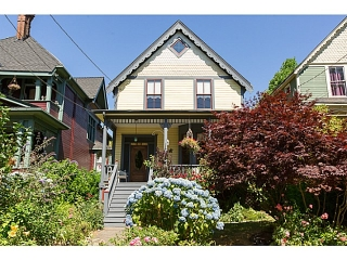 "Main Photo: 321 QUEENS Avenue in New Westminster: Queens Park House for sale in ""QUEEN'S PARK"" : MLS®# V1131865"
