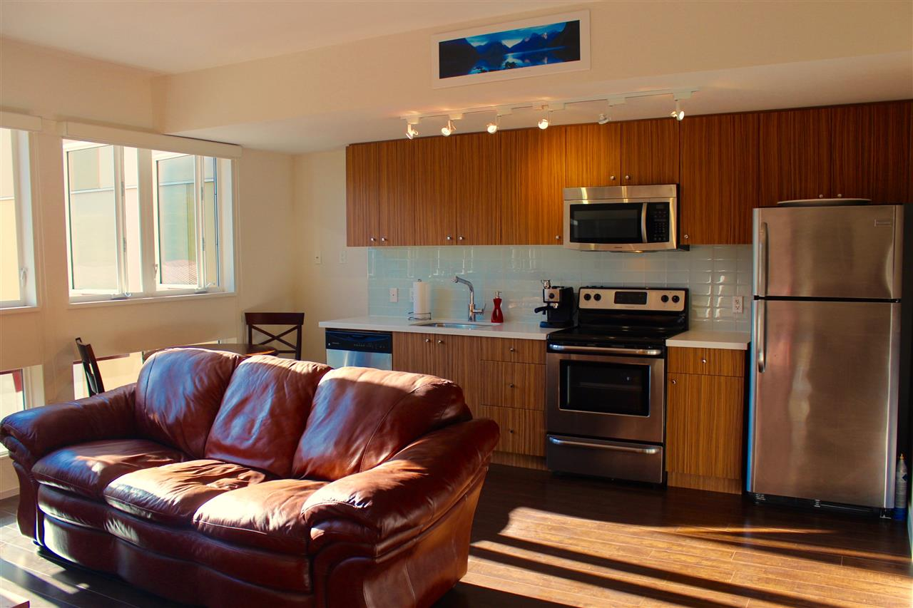 Large bright space for living, dining and cooking -- all the essentials... and with a VIEW!