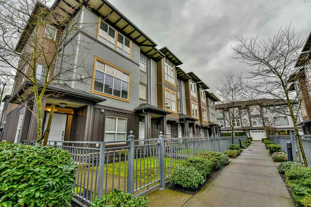 "Main Photo: 47 18777 68A Avenue in Surrey: Clayton Townhouse for sale in ""Compass"" (Cloverdale)  : MLS®# R2146165"