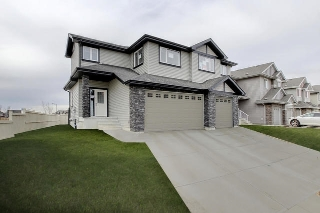 Main Photo: 1322 162 Street in Edmonton: Zone 56 House Half Duplex for sale : MLS(r) # E4058291